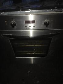 Electulux oven tricity bendix hob and extractor
