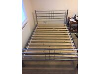 Double mattress BED FRAME ONLY