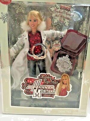 2008 Hannah Montana Holiday Pop Star Sings Rockin Around The Christmas Tree~