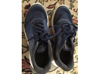 Nike blue trainers - used