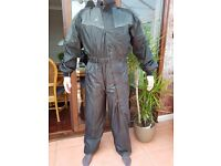 "Mens Waterproof one piece suit as new - Med - Large 38"" - 42"""