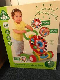 Unisex Lights and sounds walker 9-18 months