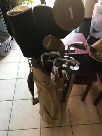 Full golf set with 50 balls