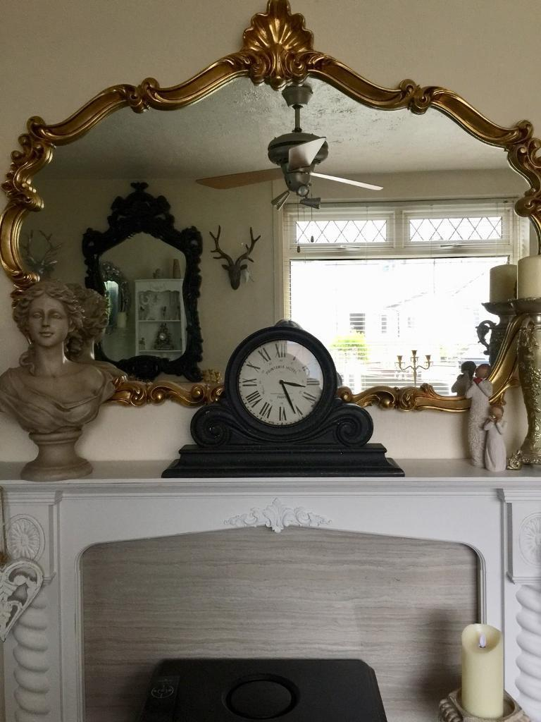 Lovely large mantel clock