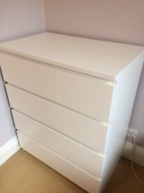 Chest of drawers - 14 months old - excellent condition