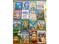 46 Fantastic kids DVDs £20