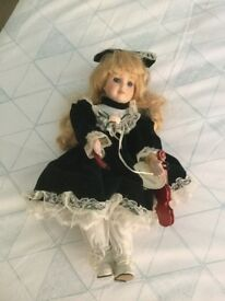 Large porcelain Doll