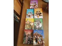 little house on the prarie dvds seasons 1-7