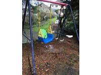 Double garden swing/glider