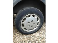 FORD TRANSIT CONNECT STEEL WHEELS AND TYRES