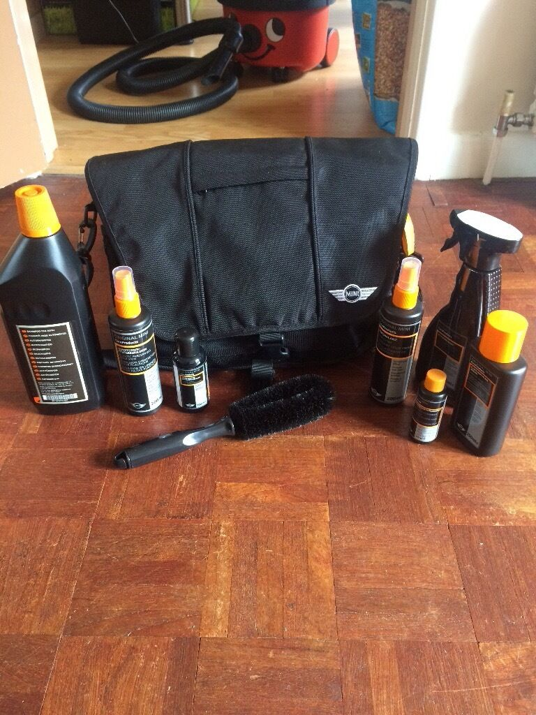 New Genuine Bmw Mini Car Cleaning Kit And Bag In Woking Surrey