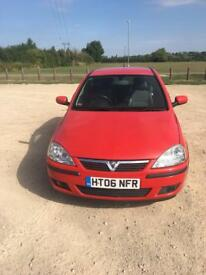 NEW PRICE - 2006 Vauxhall Corsa 1.2 sxi - 81000 miles - 1 lady owner from new