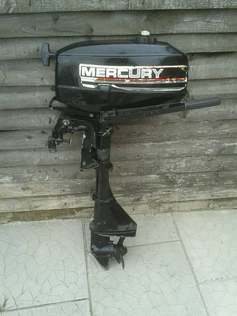 2.5 HP Mercury Outboard