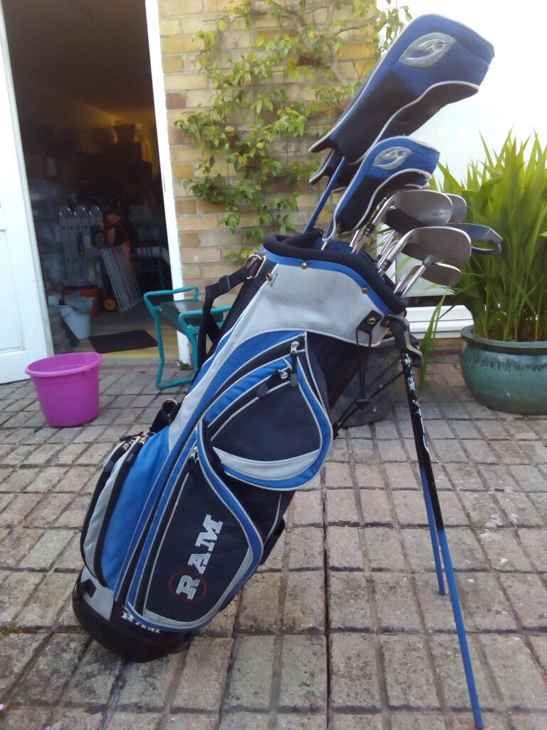 d35f4f6e01 Full set of RAM Concept Golf Clubs in Stand Bag