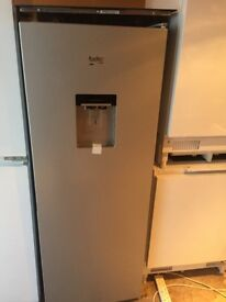 Beko Tall Silver Fridge with Drinks Dispenser New and Unused See Details