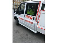 Recovery van special lift ford transit