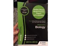 National 5 biology past paper book