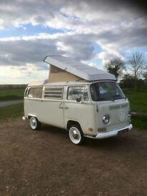 VW Early Bay Westfalia Campervan
