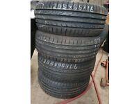 205/55/16 Dunlop Sport New Tyres