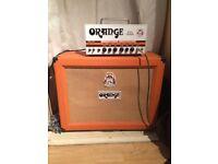 Orange Dual Terror 30 Watt Amplifier Head + Orange 2x12 Cab
