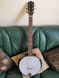 Martin Smith 6 String Banjo & Gig Bag
