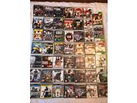 45 ps3 and 5 Xbox 360 games