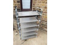 Second hand shoe rack - up to 18 pairs