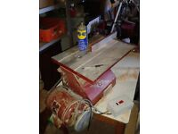 Coronet Consort circular saw with planer