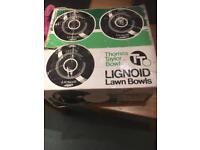 Thomas Taylor lignoid bowls