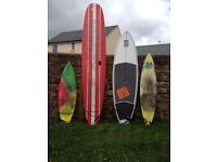SUP AND SURFBOARDS FOR SALE