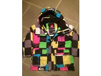Boys Quicksilver ski jacket Size 4/5