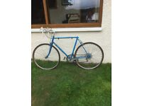 Free bike. Gents racer - could be upgraded or used for repairs
