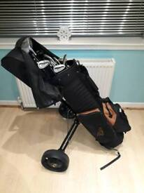 Full Set of Clubs with Bag & Balls