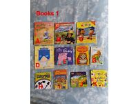 Children's Books Various Titles Fireman Sam Noddy Peppa Pig Used Great Condition 50p Each