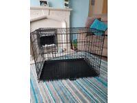 Large dog cage £30 ovno