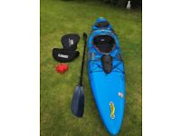 Pyranah Fusion Medium Kayak with Connect 30 Outfitting