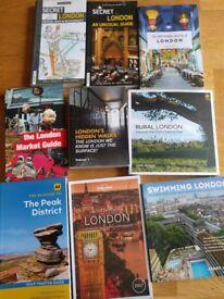 London Books: Market Guide, Rural London, Hidden Walks, Secret London,...