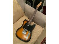 Fender Mexican Telecaster Sunburst Electric Guitar