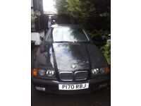 Black BMW 1.8 (for spares or repair)