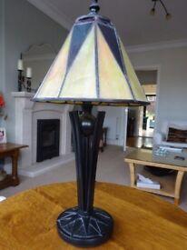 Art Deco Tiffany Style Lamp