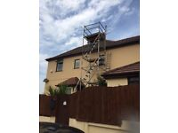 Massive 8.2 metre Youngman alloy scaffold tower