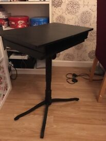 Compact IKEA Computer Table height adjustable good condition