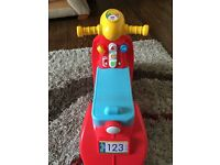 Fisher price sit on scooter