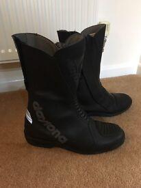 Daytona motorcycle motorbike boots size 40/7 immaculate condition Swansea