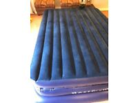 3-LAYERS Inflatable Double Bed PLUS electric Pump, Storage bag