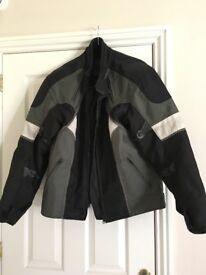 Men's Motorcycle Jacket Size Large