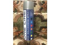 Silver/Galv Spray Paint