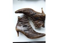 Firetrap Lace Up Boots, worn once, very good condition slight scuff marks on heels otherwise as new.