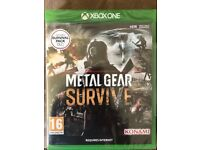 Xbox One Metal Gear Survive Brand New