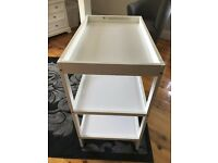 £20 Mothercare baby changing table - has marks but could be painted